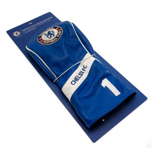 Chelsea FC Golf Driver Headcover Heritage  CFC Merchandise  Football Gifts Shop